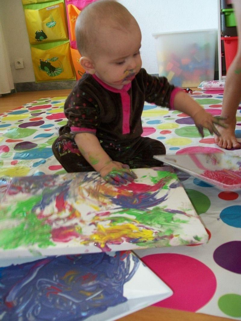 peinture enfant 2 ans peinture no l pour les deux quatre ans peinture 2ans peinture automne. Black Bedroom Furniture Sets. Home Design Ideas