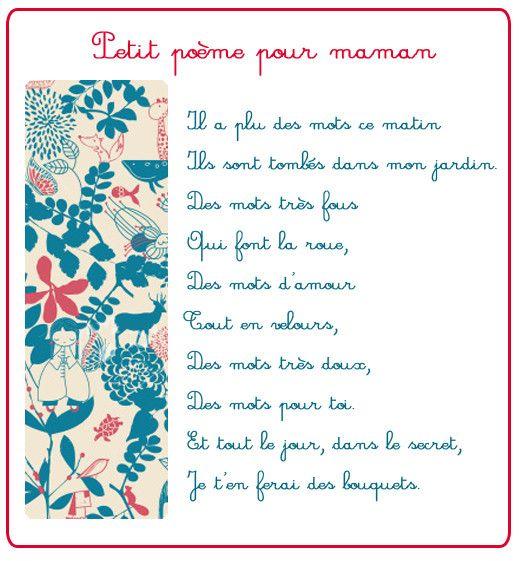Poemes fetes diverses page 2 for Par la fenetre ouverte comptine