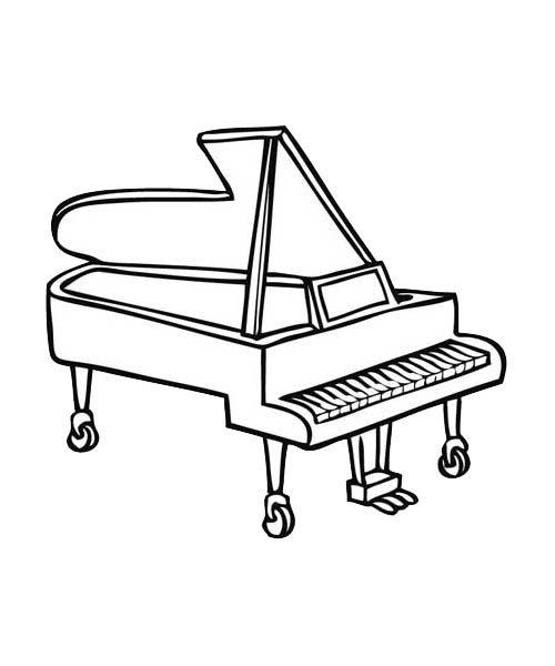 Préférence Piano A Queue Dessin – Ciabiz.com JF77